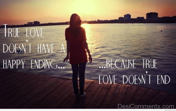 Truse Love Have A Happy Ending