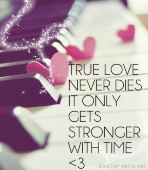 Picture: True Love Never Dies It Only Gets Stronger With Time