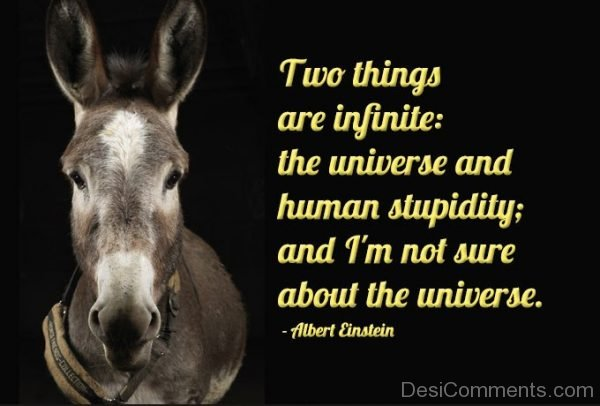 Two Things Are Infunite