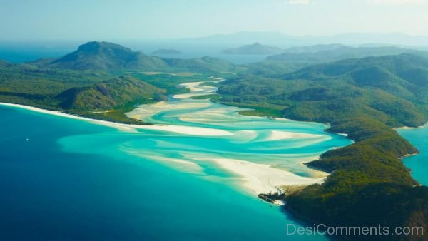 White Haven Beach and Hamilton Island, Queensland