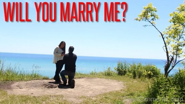 Will You Marry Me Photo