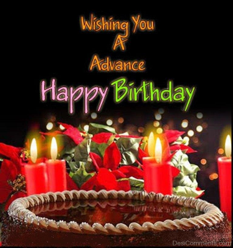 Advance Happy Birthday Pictures Images Graphics Page 2