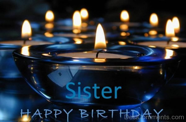 Wonderful Pic Of Happy Birthday Sister