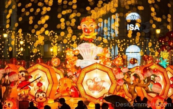 Picture: Wonderful Pic Of Spring Festival
