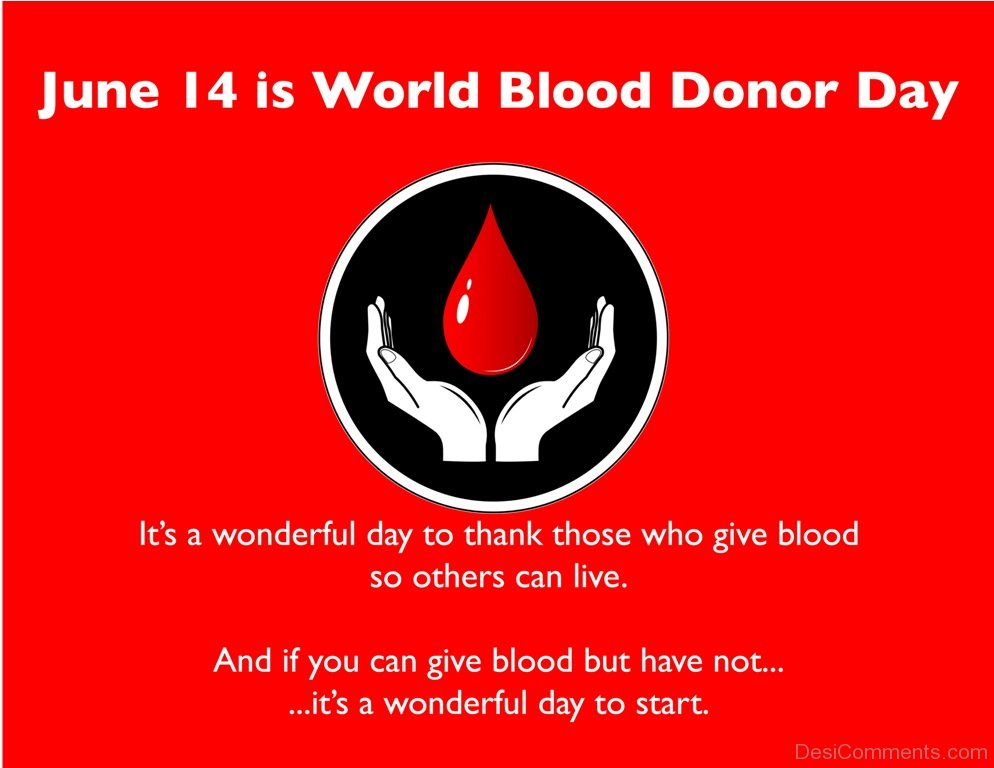 World Blood Donor Day Pictures Images Graphics