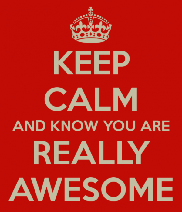 You Are Really Awesome