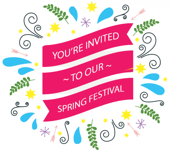 Picture: You're Invited To Our Spring Festival