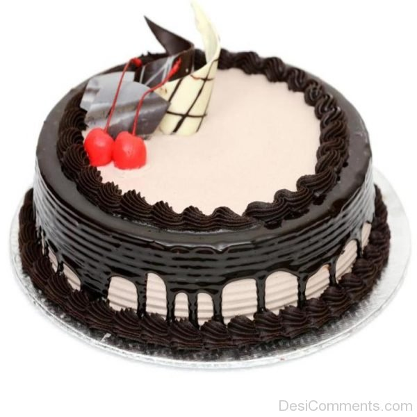 Yummy Chocolate Cake Image