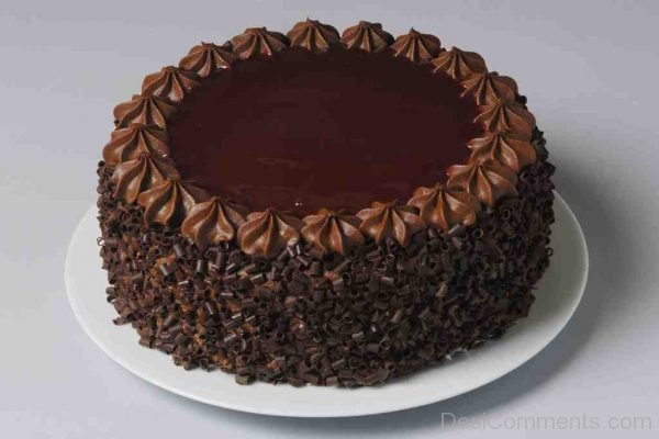Yummy Chocolate Cake - Nice Pic