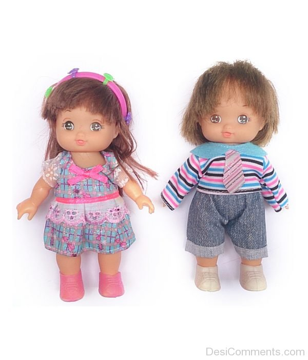 A Pair Of Dolls