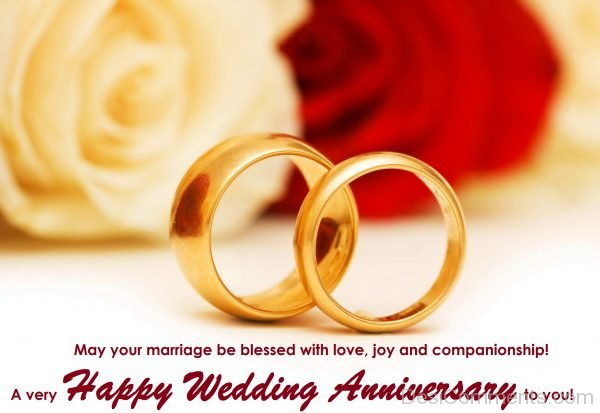 A Very Happy Wedding Anniversary To You