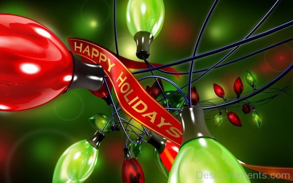 Awesome Pic Of Happy Holidays