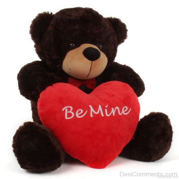 Be Mine Teddy Picture