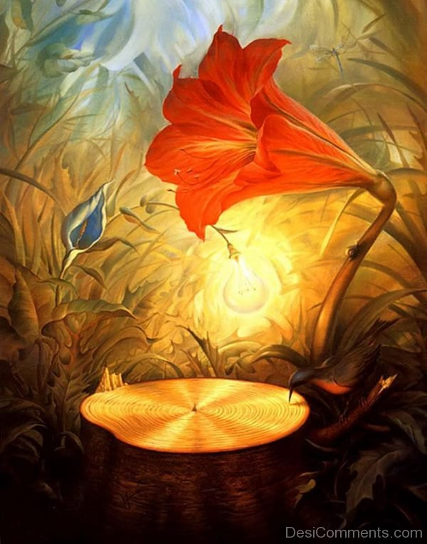 Beautiful creative oil painting for Creative painting on canvas