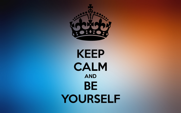 Beautiful Image Of Be Yourself