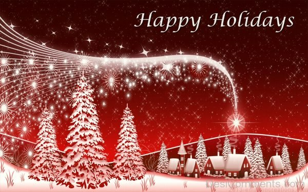 Beautiful Pic Of Happy Holidays