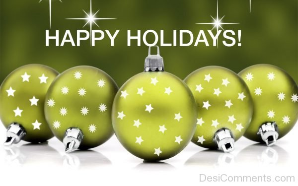 Beautiful Picture Of Happy Holidays