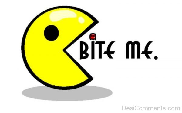 Picture: Bite Me – Pacman Pic