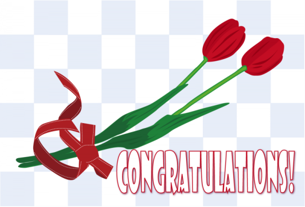 Congratulations With Rose