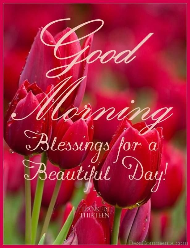 Good Morning Beautiful Mother : Good morning blessing for a beautiful day desicomments