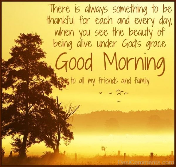 Good Morning TO All My Friends