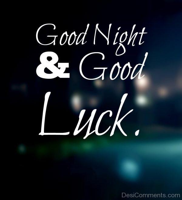 Good Night And GoodLuck