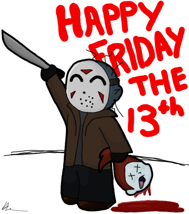 Happy Friday The 13th Desicommentscom