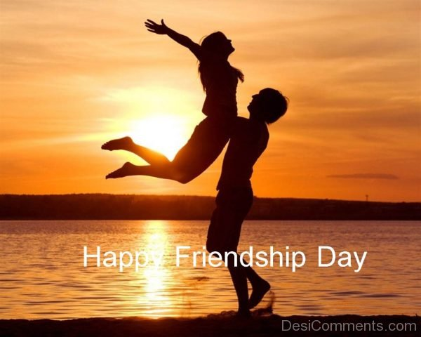 Happy Friendship Day Couple