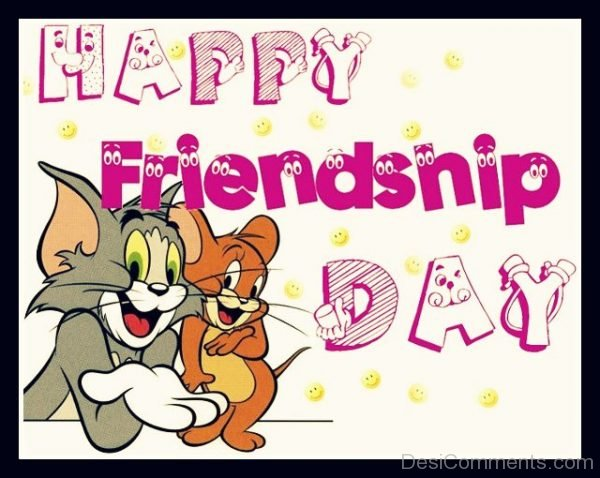 Picture: Happy Friendship Day With Tom And Jerry