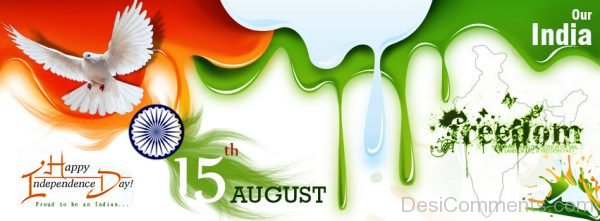 Happy Independence Day 15 August Wallpaper