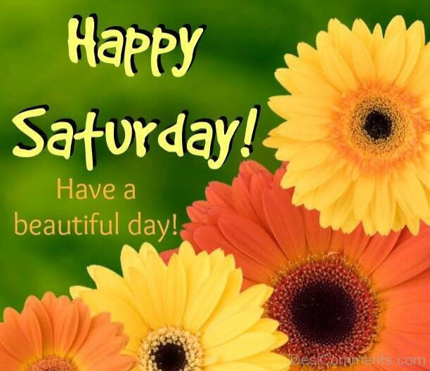 Happy Saturday Have A Beautiful Day - DesiComments.com