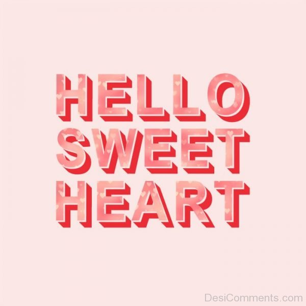 Hello Sweet Heart Image