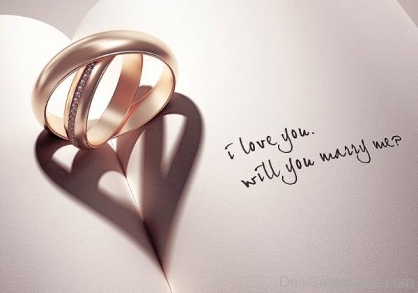 I Love You Will You Marry Me