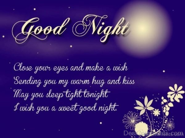 I Wish You A Sweet Good Night