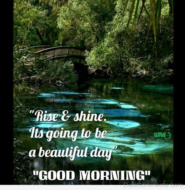 Its Going To Be A Beautiful Day