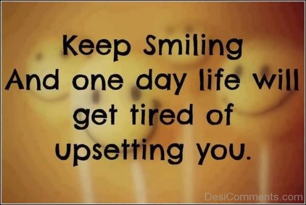Keep Smiling Image