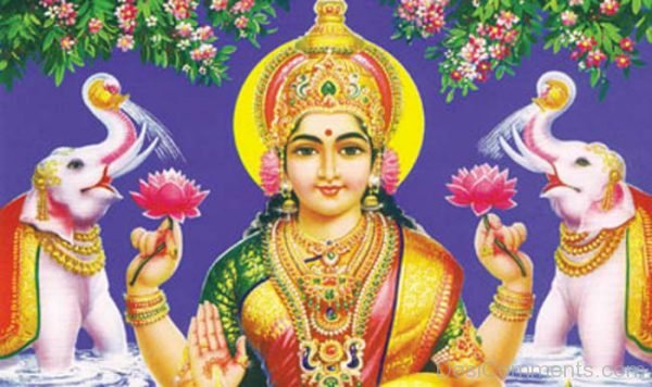 Laxmi Puja God Picture