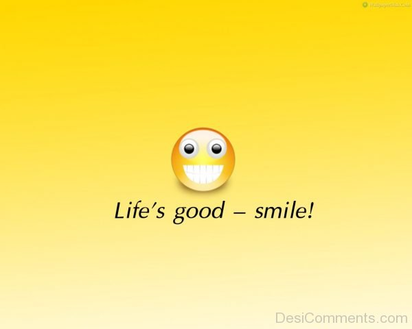 Life Is Good Smile