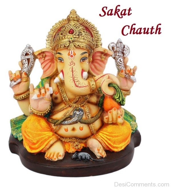 Ganpati Blessing Quotes: Sakat Chauth Pictures, Images, Graphics For Facebook, Whatsapp