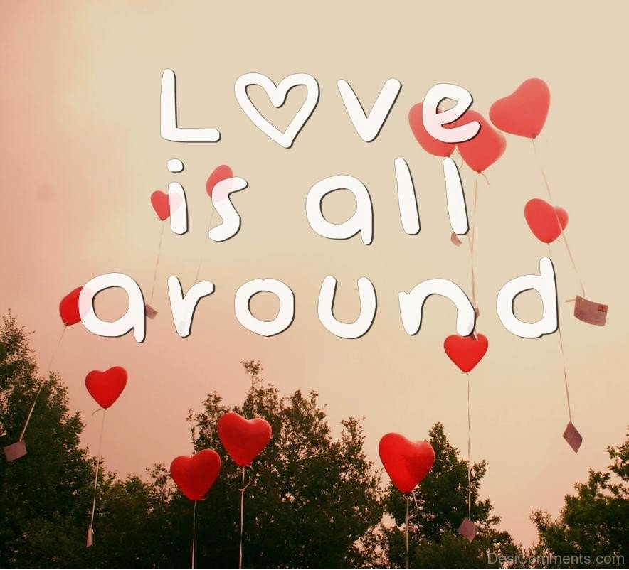 Love Is All Around - DesiComments.com