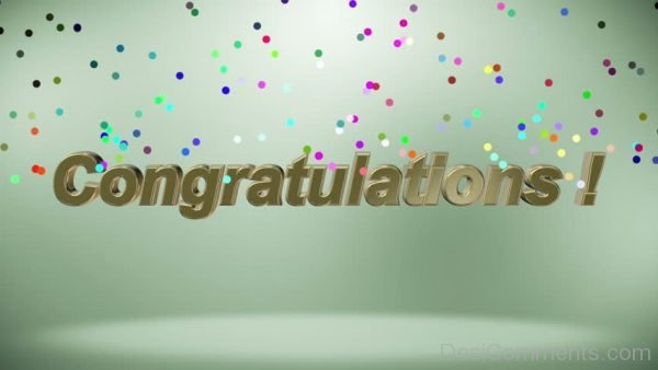 Lovely Congratulations Image