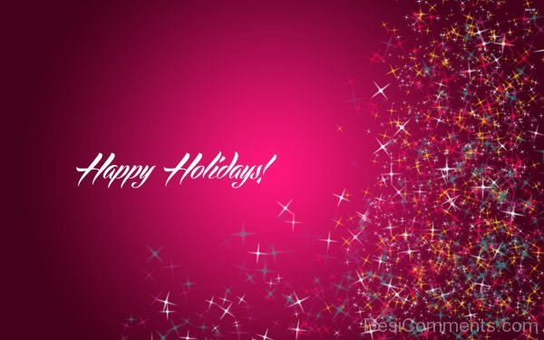 Lovely Happy Holidays Pic