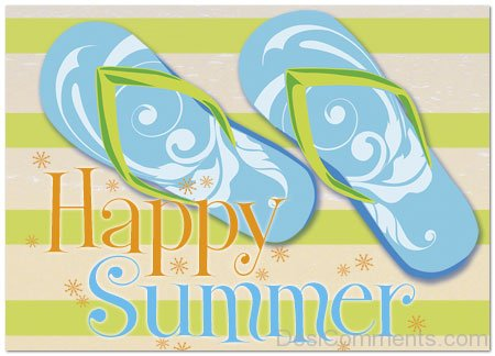 Lovely Image Of Happy Summer
