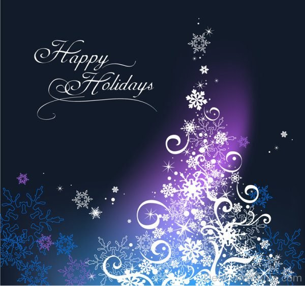 Lovely Pic Of Happy Holidays