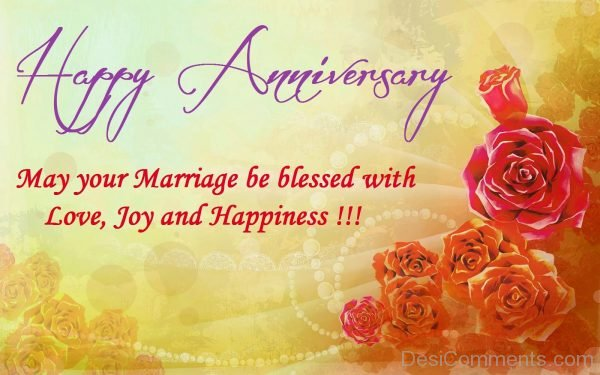 May Your Marriage Be Blessed With Love Joy And Happiness