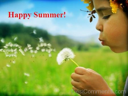 Nice Image Of Happy Summer !