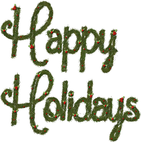Nice Pic of Happy Holidays !