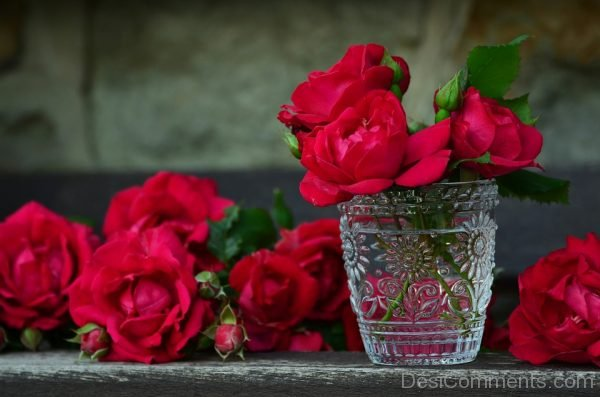 Picture: Red Rose Beuquet