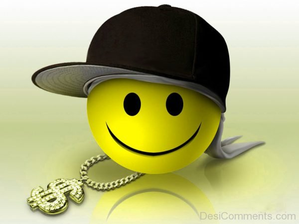 Smiley With Cap