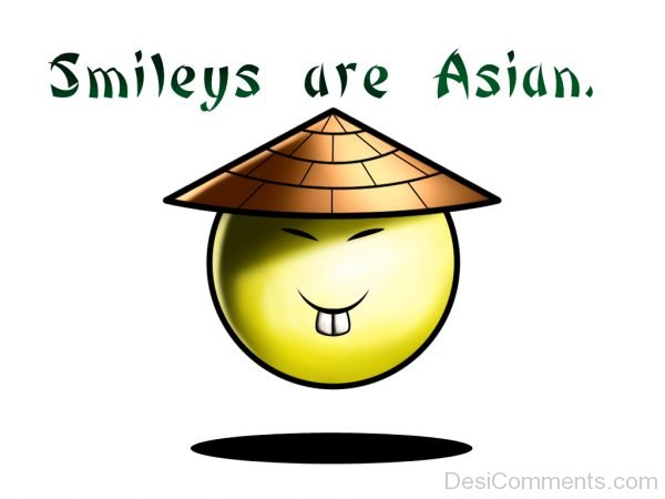 Smileys Are Asian